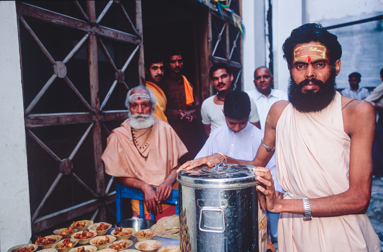 haridwar_ashram_breakfast_2004RVP
