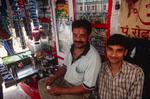 Tobacco stall, Haridwar Staion, Uttarakhand