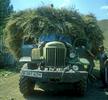 A vintage Russian army Zhil truck serves out its retirement in a Kazakh villageNikon FM2, 24mm, Fuji Velvia