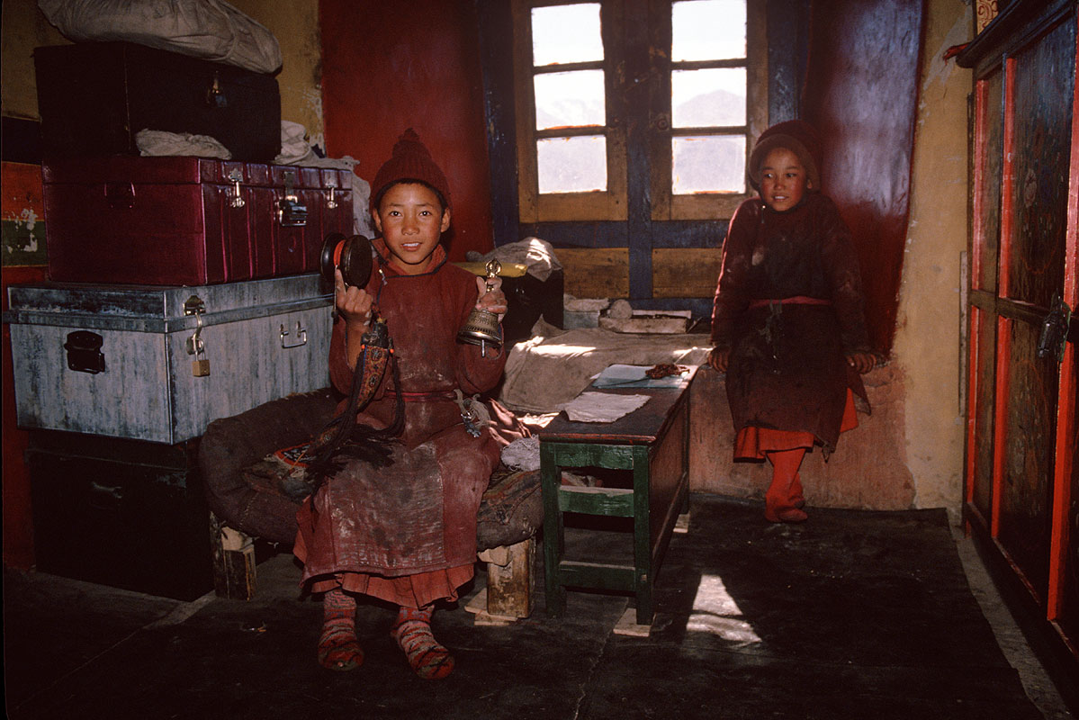At Hemis Gompa, LadakhCanon A1, 50mm, Kodachrome