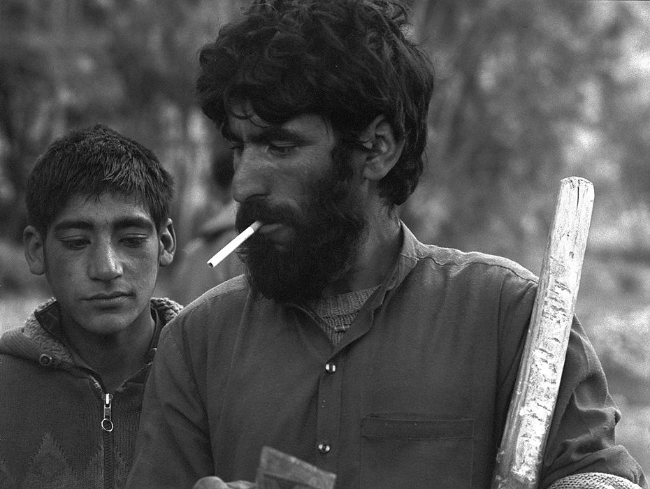 Portrait of a Balti porter at Askole Bronica ETRSi, 70mm, Kodak T-Max 400 @ 800ASA