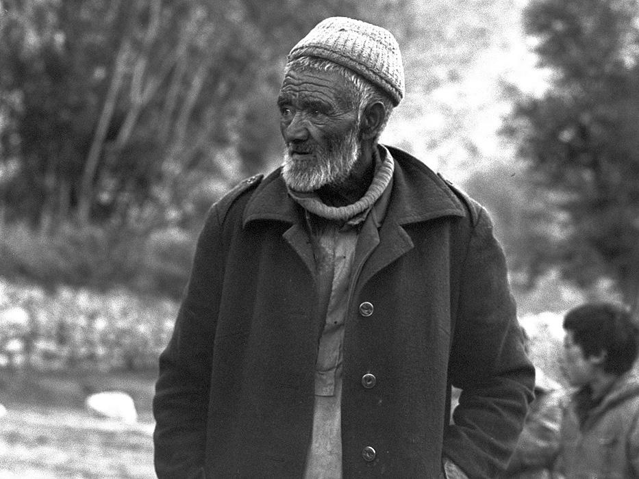 Portrait of an Askole-Pa (man from Askole) at Askole village in BaltistanBronica ETRSi, 70mm, Kodak T-Max 400 @ 800ASA