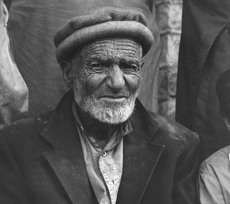 Portrait of a village elder at Hispar in the Nagar valley. This village lies at the snout of the Hispar glacierBronica ETRSi, 70mm, Kodak T-Max 400 @ 800ASA