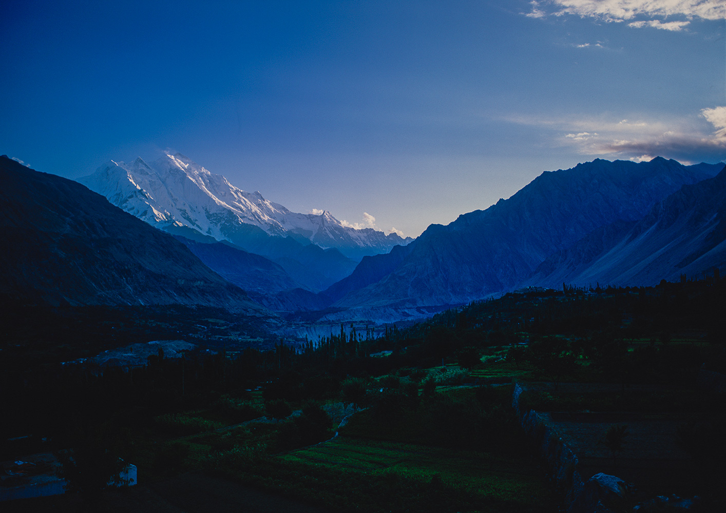 From Karimabad in Hunza