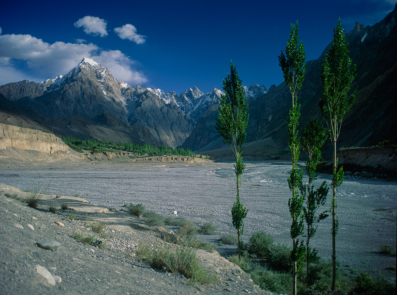 The Hunza Valley at Sost