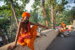 Sadhu at Rishikesh