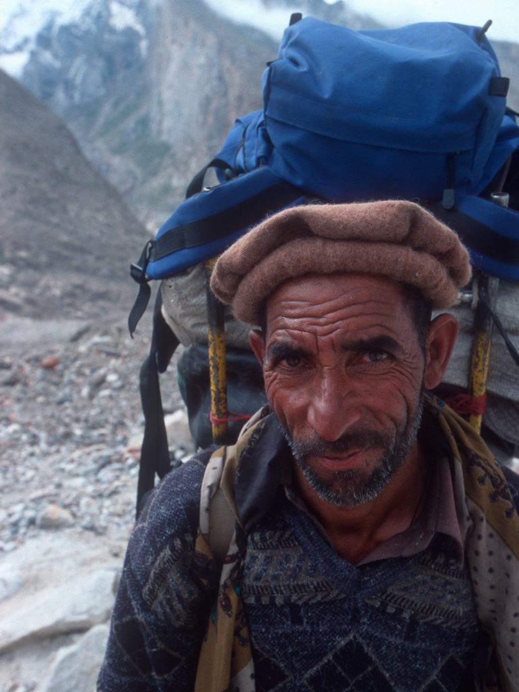 Ishmail was a regular head-porter on our trips in Baltistan for many years.
