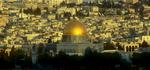 Morning light on the Dome of the Rock / Al Aqsa, JerusalemNikon f5, 17-35mm, Fuji Velvia 100