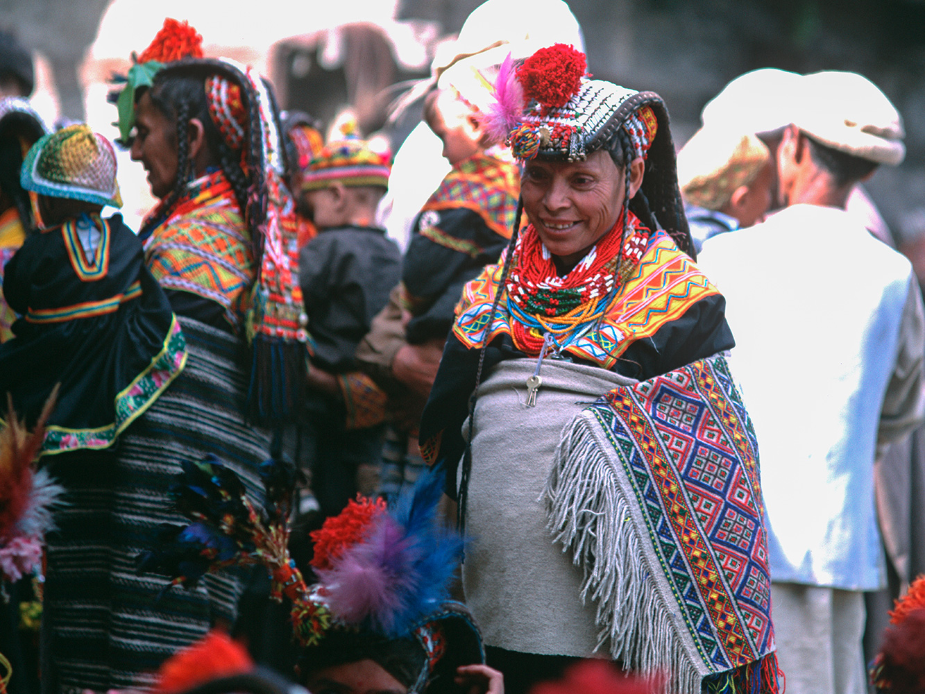Taken during the Jhoshi spring festival at Rumbur village, Kalash Valleys, Chitral, NWFP, PakistanBronica ETRSi, 75mm, Fuji Velvia