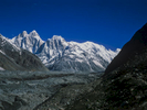 Seen up the Jutmal GlacierCentral Karakoram, Pakistan