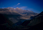 A view north up the Kali Gandaki valley towards MustangProject VeronicaMedium format images re-scanned in a professional glass film- holder with my Nikon Coolscan 9000 and Silverfast 8 software. These images display larger on the site - enjoy!Bronica ETRSi, 50mm, Fuji Velvia