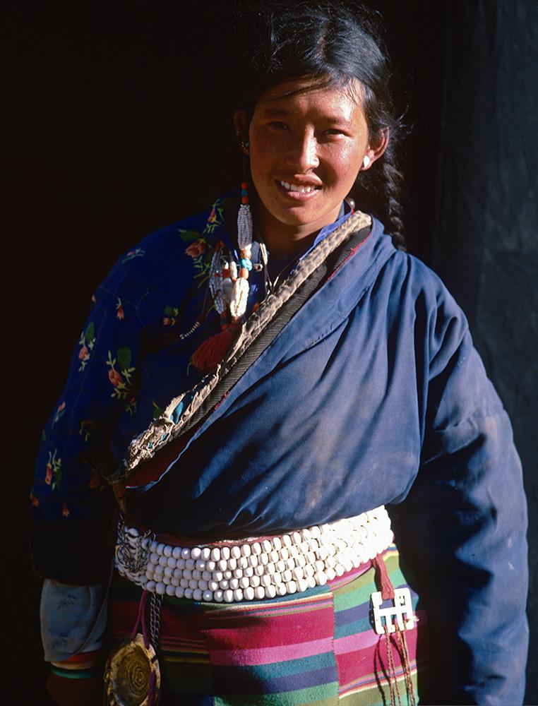 A Tibetan Buddhist pilgrim on the Kailas KoraBronica ETRSi, 75mm, Fuji Velvia