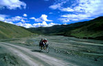 Approaching the Kamba La (4794m) on the old road from Lhasa to GyantseNikon FM2, 24mm, Fuji Velvia