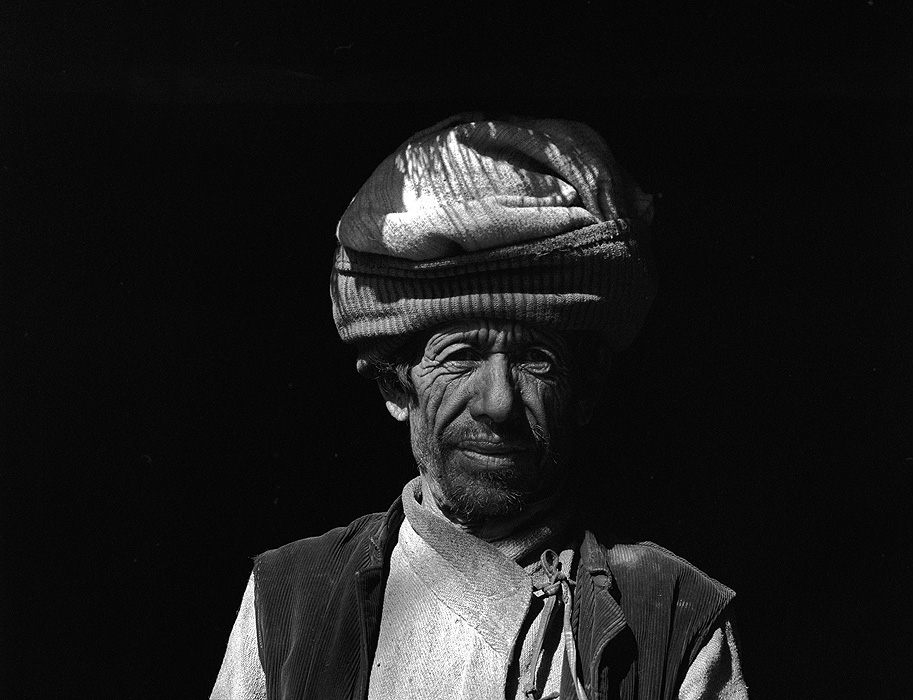A dhami or shaman in HumlaBronica ETRSi, 70mm, Ilford HP5 @ 800ASA