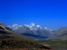 A view back west into Chitral from the crest of the Karumbar to Koyozom and Thui 2 etcBronica ETRSi, Fuji Velvia