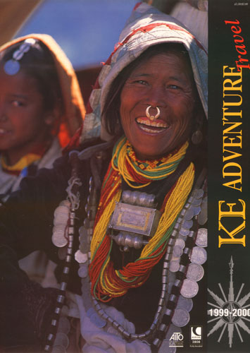 Chhetri woman and daughter at the Raling Purni festival in Humla, north-west Nepal.The cover of this prestigious travel company's Millenium brochureBronica ETRS, 150mm, Fuji Velvia