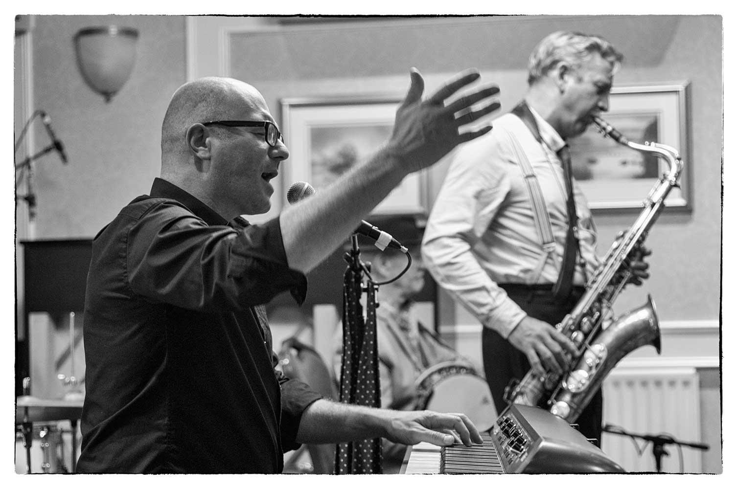 At the Keswick Jazz & Blues Festival, 2017