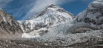 From Everest BasecampThe summit of Lhotse just peeping into view. A stitch of two images shot in November 2008Nikon D300, 17-35mm