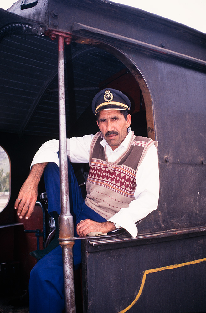 Locomotive Driver at Landi Kotal station
