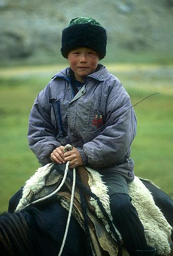 Young boy on horsebackNikon FM2, 50mm, Fuji Velvia