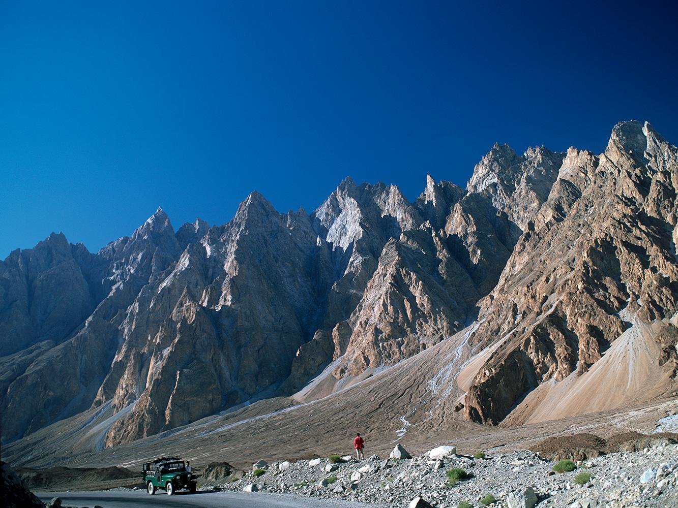 Near Passu in Hunza