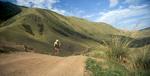 Mountain biking in the Tien Shan rangeNikon FM2, 24mm, Fuji Velvia