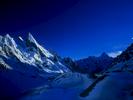 Considered by many to be the most beautiful peak in the Karakoram. At dawn from above Gondoro base camp on the Gondokoro glacier. Hushe Karakoram.