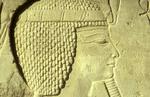Detail of a relief muralNikon F5, 17-35mm, Fuji Velvia 100
