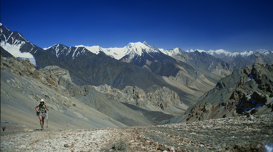 View north into the Mai Dur valleyShimshal, Northern Karakoram, Pakistan