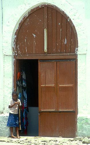 Entrance to a shop in this sleepy Red Sea portNikon F5, 17-35mm, Fuji Velvia 100
