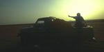 Crossing the desert from Shibbam to Shabwa in the Hadramawt, YemenNikon F5, 17-35mm, Fuji Velvia 100
