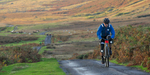 The Monster Miles is a 62 mile (55% off road) Cyclo-Cross Sportive organised by Cycling Weekly and run by Rather Be CyclingThese are leading riders coming up onto Caldbeck Commons from Mosedale early on a beautiful October morning