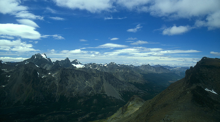 East from the summit of Cerro Falso TonelliNikon FM2, 24mm, Fuji Velvia