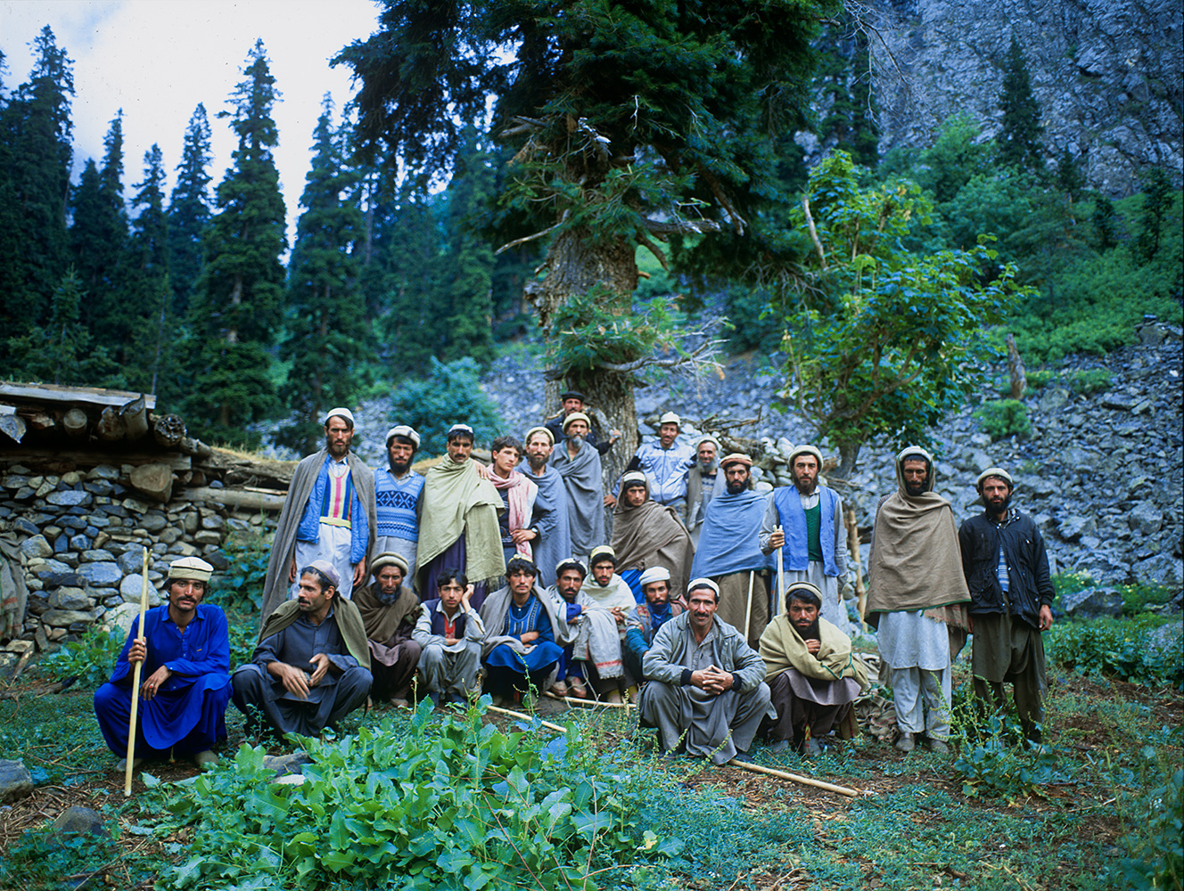 These are the men I crossed the Kachikani Pass with on two occasionsBronica ETRS, 50mm, Fuji RDP