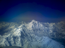 Through the window of a Fokker Friendship flying from Islamabad to Gilgit