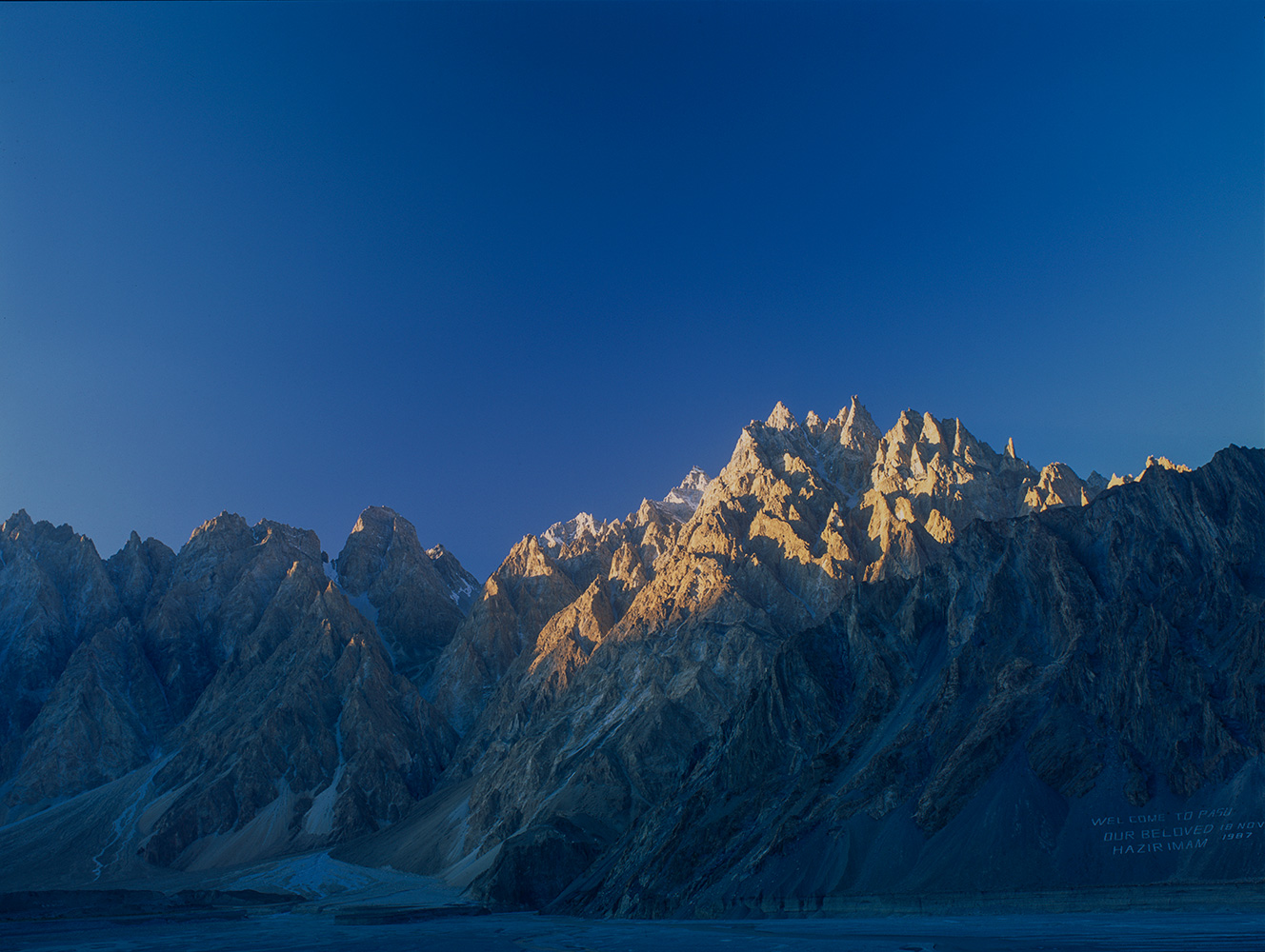 Hunza Valley at Passu