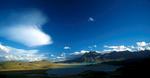 A panorama from Cerro Leon, a small peak near Estancia La Oriental.Nikon FM2, 24mm, Fuji Velvia