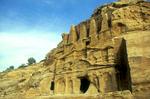 The {quote}Obelisk Tomb{quote}  in the Wadi Musa or {quote}Siq{quote}Nikon F5, 17-35mm, Fuji Velvia 100