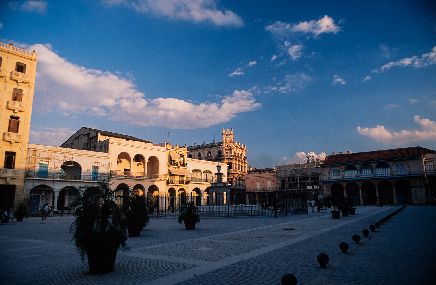 Another view of this stunning square.Nikon FM2, 24mm, Fuji Velvia