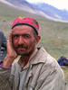 A villager from Lasht at the summer pastures in upper YarkhunBronica ETRSi, Fuji Velvia