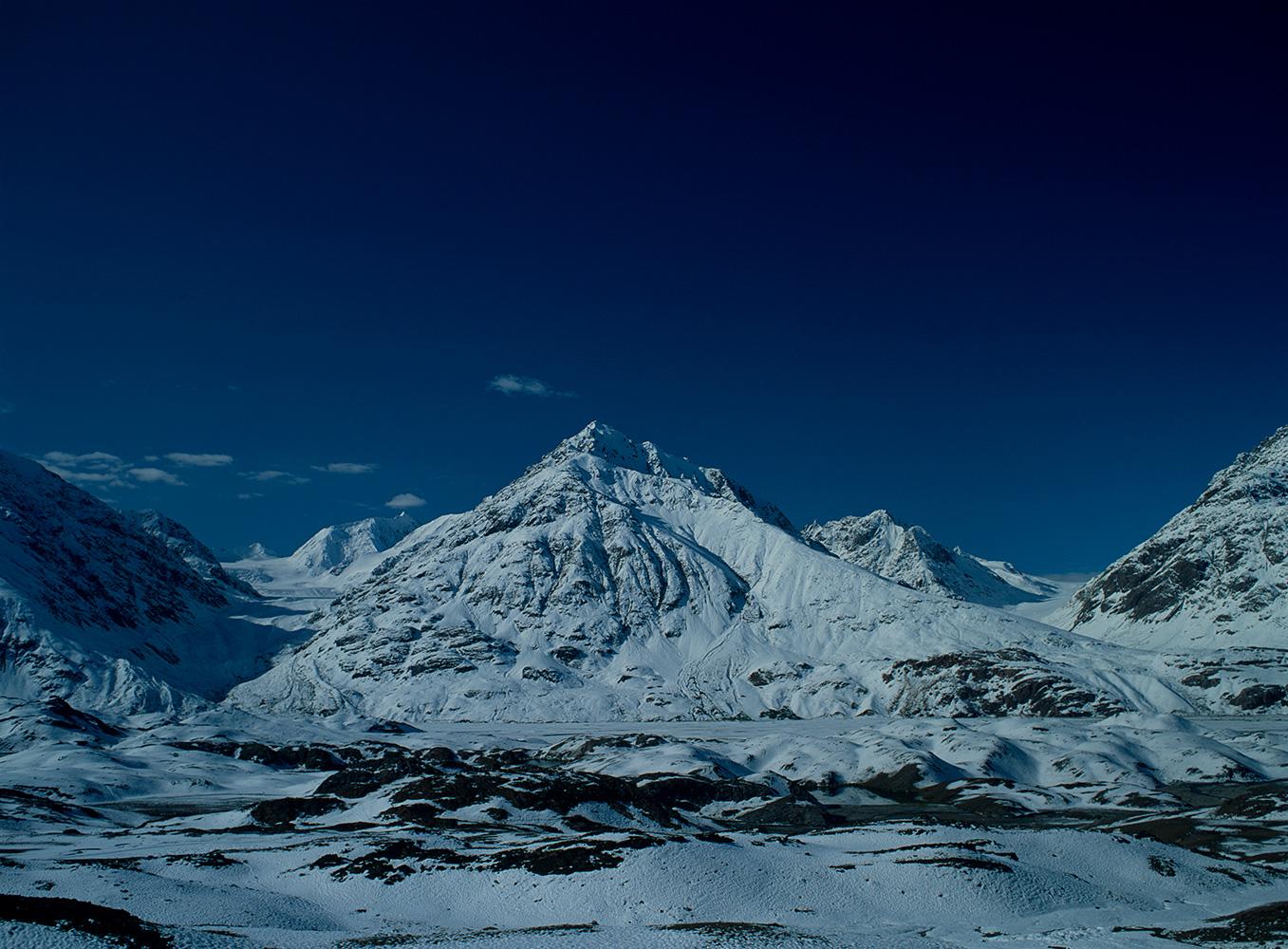 Beyond these mountains lies the village of DarkotBronica ETRSi, Fuji Velvia