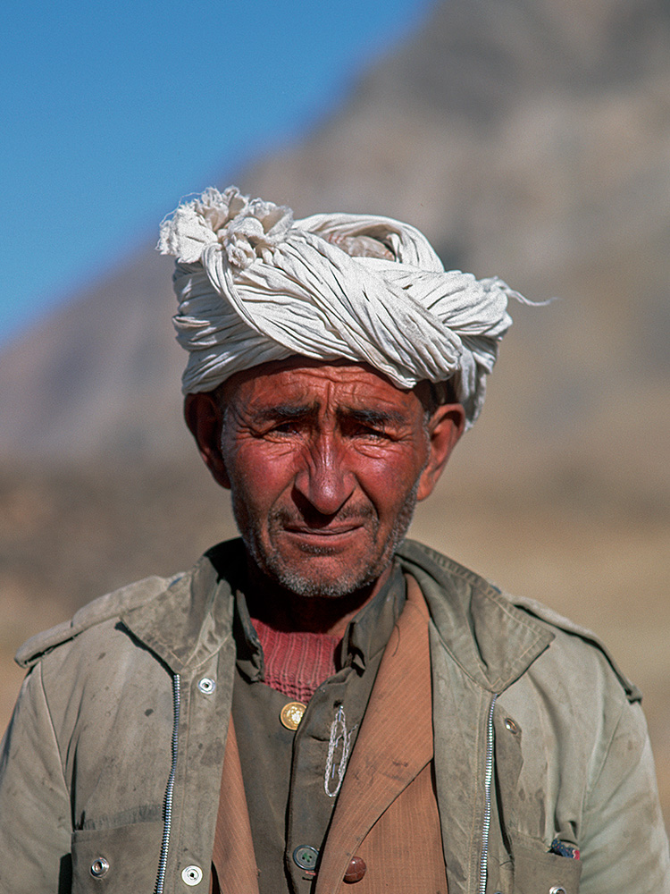 One of Mirza Rafi's men at Qui Quildi, Boroghil. This summer settlement lies at the western side of the Karumbar pass.NWFP, PakistanBronica ETRSi, 75mm, Fuji Velvia