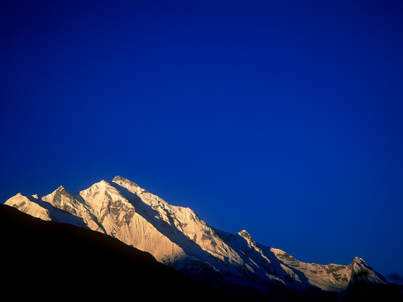 Rakaposhi from Karimabad