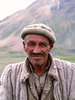 Sain Ali was one of Mirz Rafi's men who have wandered back and forth from the Wakhan to Chitral for generations looking after their livestock in these remote pasturelandsBronica ETRSi, Fuji Velvia