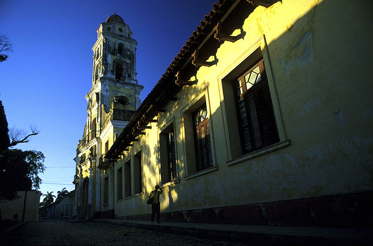 Founded in 1731, this beautiful building is one of the key landmarks in Trinidad. Today it houses the Museum of the Struggle against Counter-Revolutionaries....Nikon FM2, 24mm, Fuji Velvia