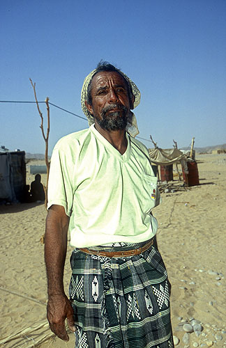 A Bedouin living by the ruins of this once magnificent cityNikon F5, 17-35mm, Fuji Velvia 100