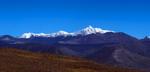 Seen here from the final ridge before reaching Lago Posadas.Nikon FM2, 300mm, Fuji Velvia