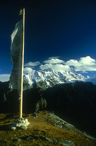 From Tserko Ri (5033m)Nikon FM2, 24mm, Fuji Velvia