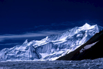 From the upper Braldu glacier on the way to the Lukpe LaCanon A1, 135mm