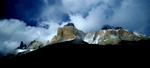 Peaks lining the eastern side of the valleyNikon FM2, 24mm, Fuji Velvia